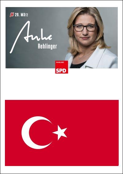 Auf türkisch